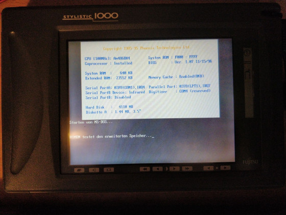Fujitsu Stylistic 1000 - Tablet