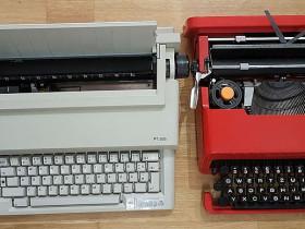 Olivetti PT 506 (zusammen mit der Valentine)