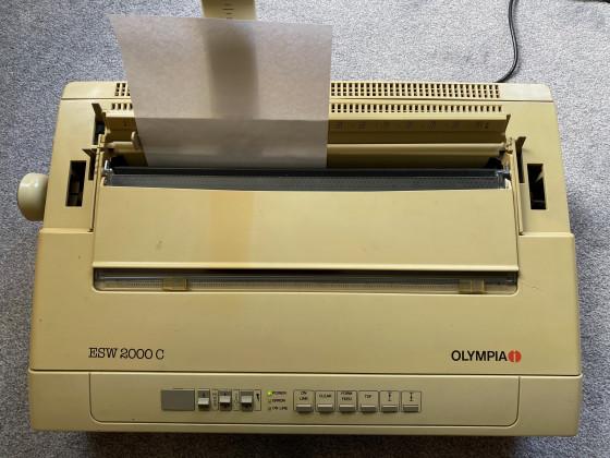 Olympia ESW2000C