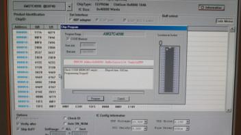 Probleme mit dem Eprom-Brenner TL866A - Elektronik